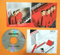 CD KRAFTWERK  The Man • Machine Europe 2008 Electronic Synth Pop no lp mc dvd