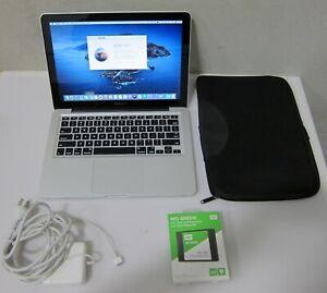 "Apple Macbook Pro 13"" Notebook Model:A1278,Intel Core i5,8GB RAM,10.15"