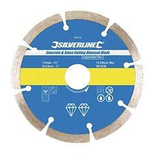 Disque Diamant Ø 115 mm pour le Béton et la Pierre Silverline 394979