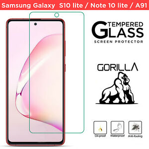 2 Pack 100% Genuine TEMPERED GLASS Screen Protector for Samsung Galaxy S10 Lite