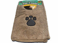 New Microfibre Pet Towel for Dogs/Cats Colour Light Brown