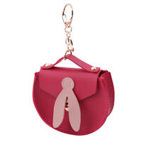 Cute Wallet Women Girls Coin Bag PU Leather Small Purse Mini Handbag Key Ring G
