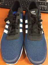 Men's Adidas NEO Cloudfoam Race Sneaker Athletic Sport Shoes