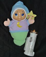 Doudou Poupée Veilleuse Playskool Hasbro 2003 Luxi Lumineuse Musical 25 Cm TTBE