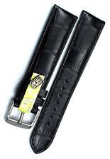 20mm LOUISIANA ALLIGATOR echt KROKO Deutscher Hersteller Graf Uhrenarmband Strap