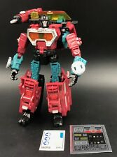 Transformers Generations 2011 Reveal the Shield PERCEPTOR Complete + Reprolabels