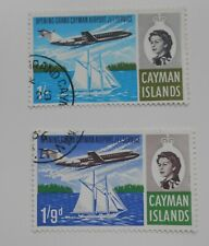 Cayman Islands 1966 Jet Service Fine Used set S.G. 209-211