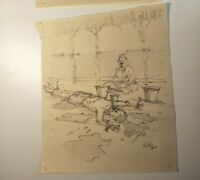 The Railway Man Movie Film Hand Drawn Torture Sketch Prop Screen Used Genuine