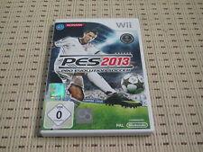 PES 2013 Pro Evolution Soccer für Nintendo Wii und Wii U *OVP*