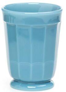 Tumbler - Paneled - Georgia Blue Glass - Mosser USA