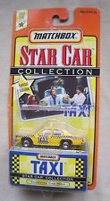 "1997 Matchbox Star Car Collection ""Taxi"" Sunshine Cab Car #804 MIP Series 1"