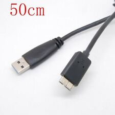 usb3.0 PC Charger +Data SYNC CableFor EMC Iomega External Hard Drive Disk 50cm