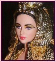 ELIZABETH TAYLOR as Cleopatra Portrait Barbie MINT Doll NO BOX Just deboxed