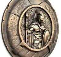 Greek shield ancient greece wall art ,Spartan warrior greek mythology wall decor