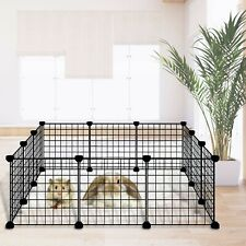 New listing Small Pet Playpen, for Indoor Outdoor Use, Portable Metal WireWire Yard Fence
