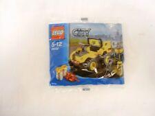 2x LEGO CITY promo pack 30017 repêcha 30152 routes quad NEUF