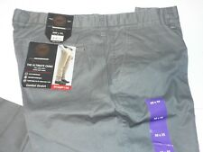 Weatherproof  Men's  The Ultimate Chino Straight Leg Gray Size 38W X 32L NWT