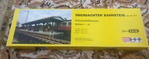 G Scale LGB hmb holz modell bau Uberdachter Bahnsteig 911 Station Platform kit