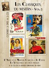 3 DVD + CD Le Banni, L'ange Et Le Mauvais Garçon, La Vengeance aux deux visages