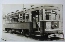 USA728 - KANSAS CITY PUBLIC SERVICE Co - TROLLEY No1204 PHOTO - Missouri USA