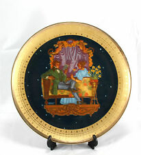 Royal Cornwall Classic Collection Decorator Plate #2 Love's Sweet Verse 1Pc
