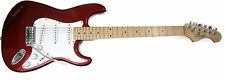 Freya ST-1 Electric Guitar Candy Apple Red Maple Fretboard Ernie Ball strings