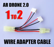 Parrot AR Drone 2.0 Power Adapter Harness Cable 1 TO 2 For LED Light Kits New