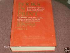 Books In Print 1987 - 1988  Titles G-O  Volumes 5