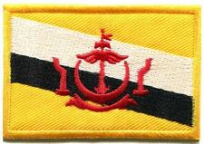 Flag of Brunei Bruneian Southeast Asia applique iron-on patch new S-905