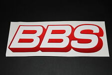 BBS Rims Rims Sticker Decal Bapperl Kleber Autocollant Logo Writing