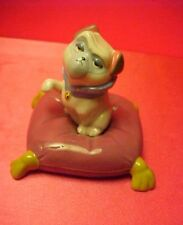 Disney Percy the Pug On Pillow with Tassels Ceramic Pocahontas Figurine