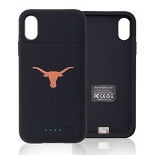 Texas Longhorns iPhone X Xs Charging Phone Case - Wireless Battery Pack