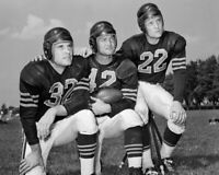 Chicago Bears SID LUCKMAN, JOHNNY LUJACK and BOBBY LAYNE  8x10 Photo Print 1948