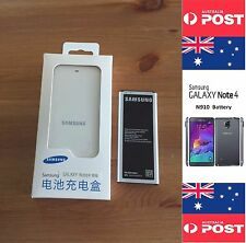 Samsung Note 4 Original Battery and Charger Dock Kit, EB-BN910BBE with NFC Local