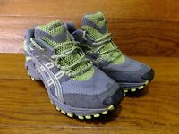 Asics Gel Trail Attack 6 Grey Running Shoes Trainers  Size UK 5 EU 38