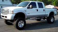 Paintable 1999-2006 Ford F250 SD/F350 SD Fender Flares Pocket Style Riveted
