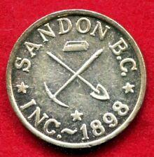 Canada, British Colombia - c1972 Sandon B.C. Inc. The Virginia Token