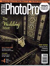 DIGITAL PHOTO PRO Magazine June 2018 Wedding Issue Sony a7 III Nikon 28mm GH5