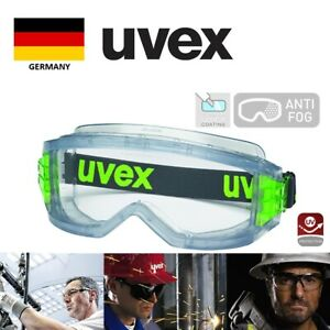 New UVEX ULTRAVISION safety goggles 9301 813. Original, made in Germany