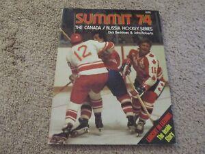 1974 Vintage Canada Russia Hockey Summit Series Book WHA Stars Soviet Union Team