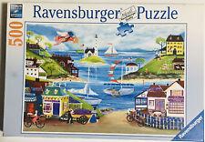 Ravensburger 500 piece jigsaw puzzle ~ Lovely Seaside ~ 141258 Cheryl Bartley
