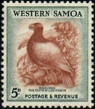 Western Samoa 1952  5d Tooth-Billed Pigeon   SG.223 Mint (Hinged)