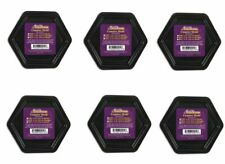 "Classroom Pack SET OF SIX 4 1/4"" Hexagon Coaster Mold Reusable Durable Plastic"