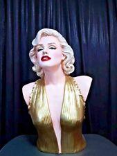 Marilyn Monroe life size statue bust Finet Sculpture Arts
