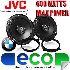 """BMW 3 Series E46 Compact JVC 16cm 6.5"""" 600 Watts 2 Way Front Door Car Speakers"""