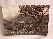 Vecchia cartolina foto di Finero Valle Vigezzo panorama paesaggio paese montagne