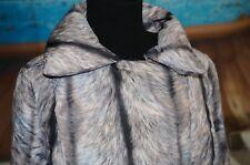 Maison Martin Margiela MM6 Sz 40 Coat Duck Down Puffer Animal Print M/L Jacket