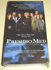PRESIDIO MED Oded Fehr, Dana Delany ~ vhs video ~ RARE, SEALED from 2002