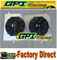 radiator Shroud +Fans for Nissan GU PATROL Y61 PETROL 4.5L 1997 98 99 00