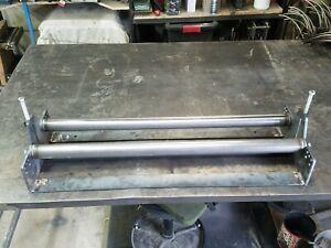 """36"""" x 1"""" Heavy Duty Sheet Metal Roller Slip Roll rolling steel"""